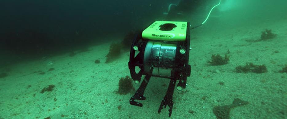 Robos subaquaticos eletro-controlado
